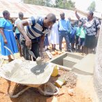 The Water Project: Mukunyuku RC Primary School -  Tank Care Training