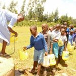 The Water Project: Lumakanda Township Primary School -  Fetching Water