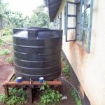 The Water Project: Bojonge Primary School -  Small Plastic Storage Tank