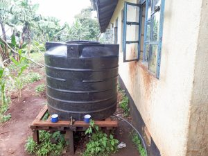 The Water Project:  Small Plastic Storage Tank