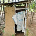 The Water Project: Emulakha Community, Nalianya Spring -  Sample Latrine