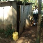 The Water Project: Ebubere Mixed Secondary School -  Latrines