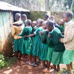 The Water Project: Bojonge Primary School -  Line For Latrine