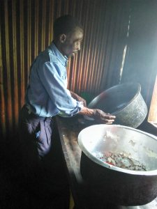 The Water Project:  Talking To The School Cook