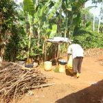 The Water Project: Sichinji Community, Makhatse Spring -  Dishes Drying