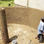 The Water Project: Sipande Secondary School -  Tank Construction