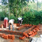 The Water Project: St. John Cheptech Secondary School -  Latrine Construction