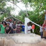 The Water Project: Syatu Community A -  Flowing Water