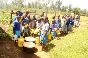 The Water Project:  Pouring Water For Storage