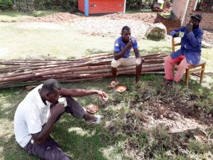 The Water Project:  Artisans Breaking For Lunch