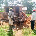 The Water Project: Sabane Primary School -  Latrine Construction