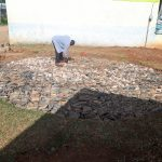 The Water Project: Precious School Kapsambo Secondary -  Tank Construction