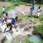 The Water Project: Luyeshe Community, Matolo Spring -  Excavation