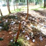 The Water Project: Majengo Primary School -  Garbage Dump At The School