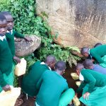 The Water Project: Bojonge Primary School -  Fetching Water
