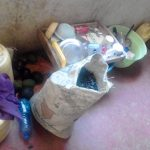 The Water Project: Mwichina Community, Matanyi Spring -  Kitchen Area