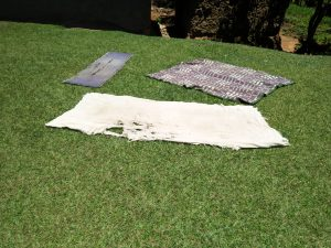 The Water Project:  Blankets Drying Outside On The Ground