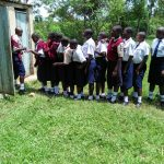 The Water Project: Imanga Secondary School -  Girls Latrines