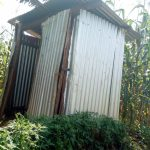The Water Project: Sichinji Community, Makhatse Spring -  Latrine Sample