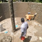 The Water Project: Sabane Primary School -  Tank Construction