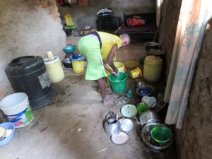 The Water Project:  Inside A Kitchen