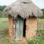 The Water Project: Mukoko Community, Mukoko Spring -  Traditional Latrine