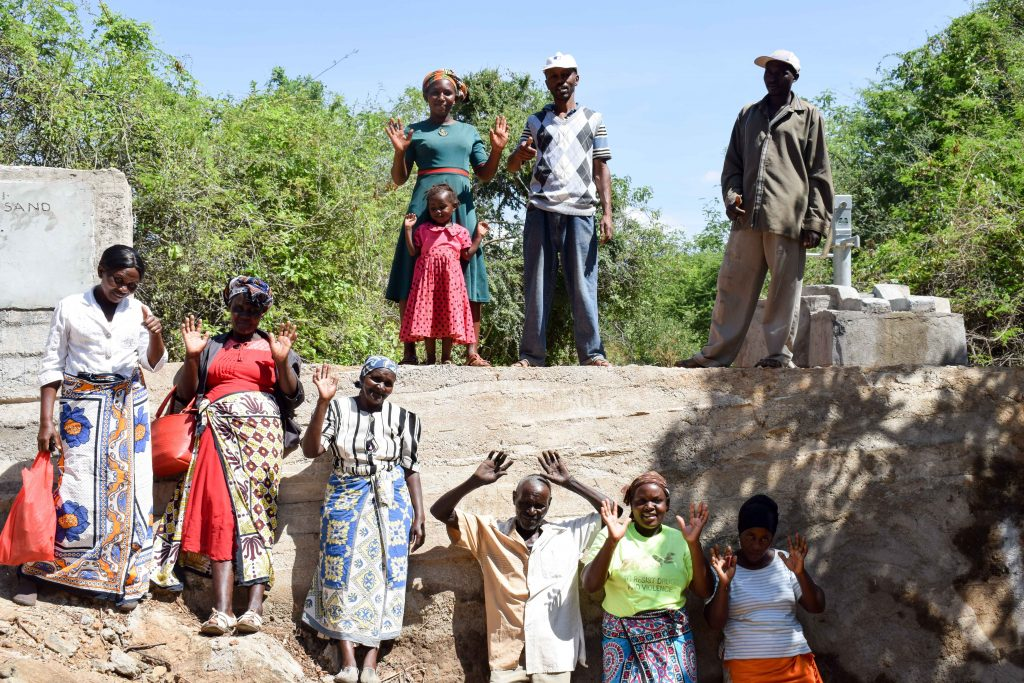 The Water Project : 16-kenya18178-finished-sand-dam