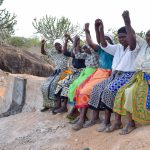 The Water Project: Ikuusya Community -  Finished Sand Dam