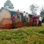 The Water Project: Kaimosi Demonstration Secondary School -  Boy Latrines