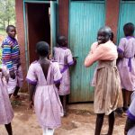 The Water Project: Magaka Primary School -  Girls Latrines