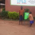 The Water Project: Shihalia Primary School -  Handwashing Station