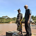 The Water Project: Kala Community A -  Flowing Water