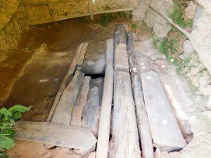 The Water Project:  Dangerous Latrine Floor