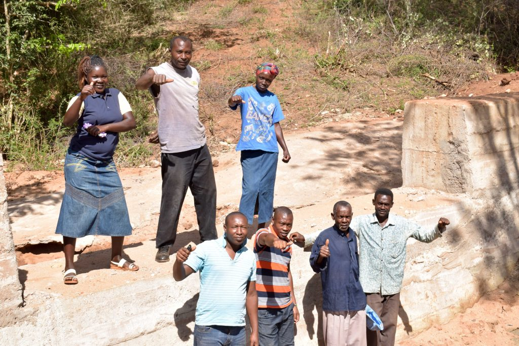 The Water Project : 18-kenya18184-finished-sand-dam