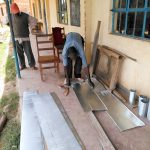 The Water Project: Sabane Primary School -  Gutter System