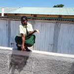 The Water Project: Precious School Kapsambo Secondary -  Sharon Mundia At The New Latrines
