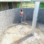 The Water Project: Mukunyuku RC Primary School -  Tank Construction