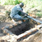 The Water Project: Bukhanga Community -  Preparing The Pit For New Latrine