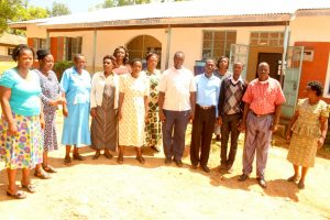 The Water Project:  School Staff Posing For A Picture