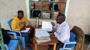 The Water Project:  Jemmimah Talking To The Deputy Headteacher