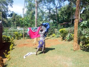 The Water Project:  Hanging Laundry
