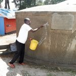 The Water Project: Kapsotik Primary School -  Curing The Cement