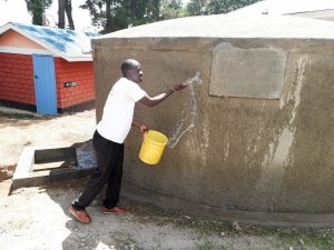 The Water Project:  Curing The Cement