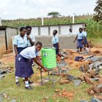 The Water Project: Sipande Secondary School -  Handwashing Station