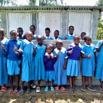 The Water Project: Sabane Primary School -  Finished Latrines