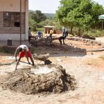 The Water Project: Ngaa Secondary School -  Tank Foundation Construction