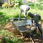 The Water Project: Bukhanga Community -  Casting The Sanplat