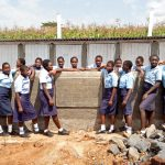 The Water Project: Sipande Secondary School -  Finished Latrines