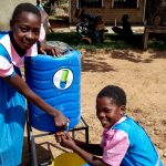The Water Project: Kapsotik Primary School -  Handwashing Station