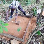 The Water Project: Luyeshe Community, Matolo Spring -  Sanitation Platform Construction
